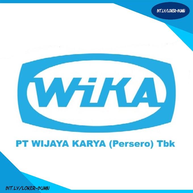 Rekrutmen Lowongan Kerja PT Wijaya Karya (Persero) 2019