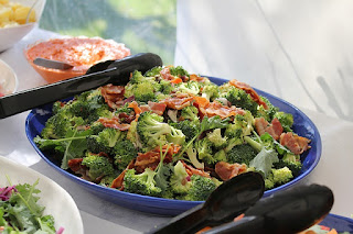 amish broccoli salad with bacon