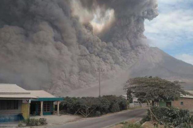 Beginilah Kondisi Terbaru Gunung Sinabung Usai Erupsi