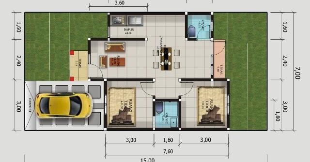 34+ Desain Rumah Minimalis 1 Lantai Type 50
