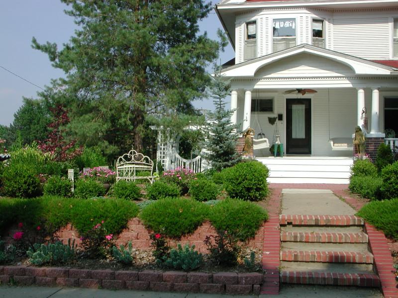 Desain Dan Ide Pemandangan Landscape Design For Front Of House
