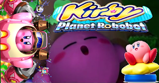 kirby planet robobot nintendo 3ds nintendo direct