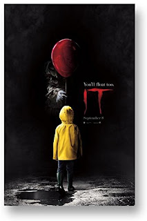 Stephen King's It 2017 Movie Poster, Stephen King It Gifts, Stephen King It Merchandise