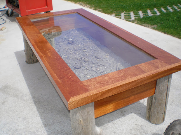 Trout Stream Coffee Table With