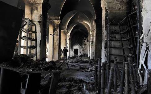 42 Tewas dalam Serangan Udara ke Masjid di Suriah