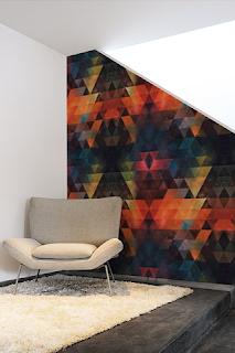 Papier peint autocollant textile - Spires sur Stickboutik.com