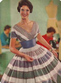 História da Moda.  Anos 50 - Parte 3  Moda Feminina 9c8bf0caf0c