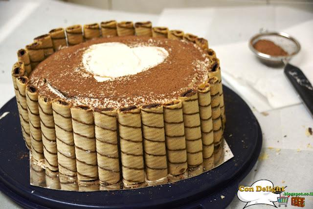 עוגת שחמט Chess cake