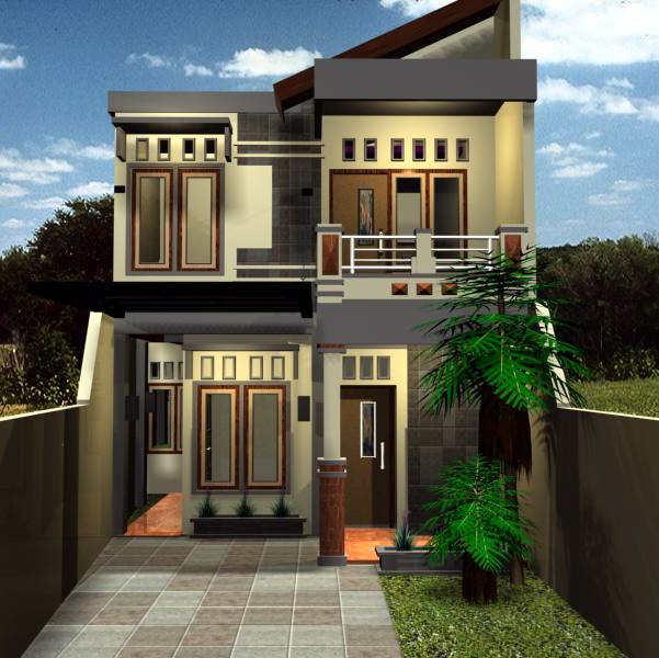 Conth Gambar Rumah Sederhana Minimalis 2 Lantai