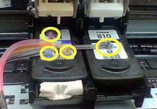Langkah Mudah Pasang infus printer Canon