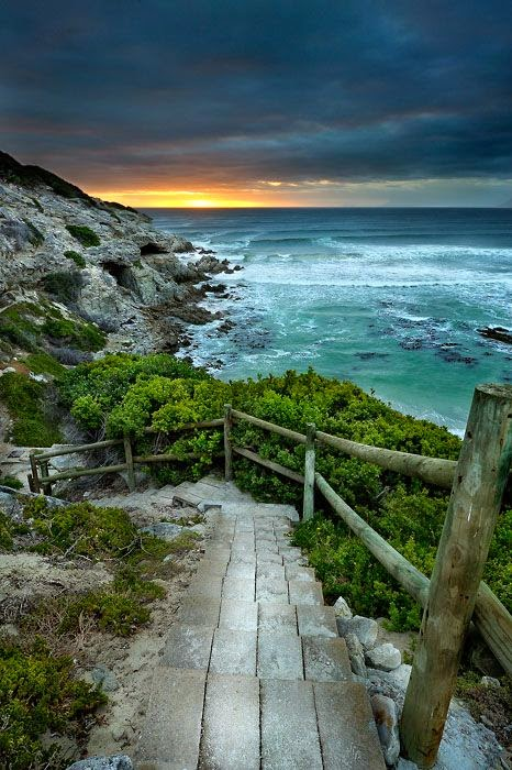 Walker Bay Nature Reserve Walkway South Africa