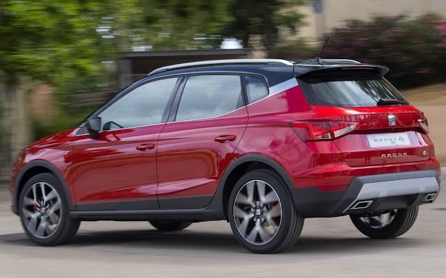 Novo Seat Arona / VW T-Cross 2018