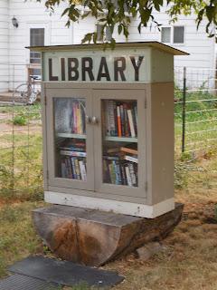 LIttle Free Library, Bozeman, Montana