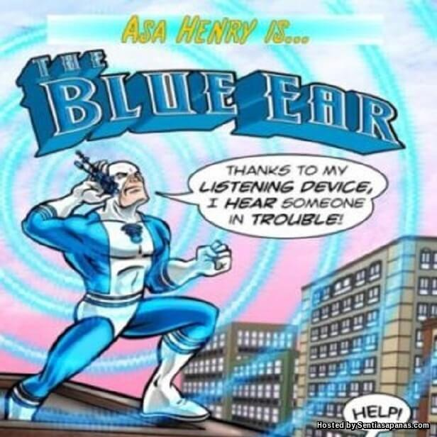 Blue Ear Marvel