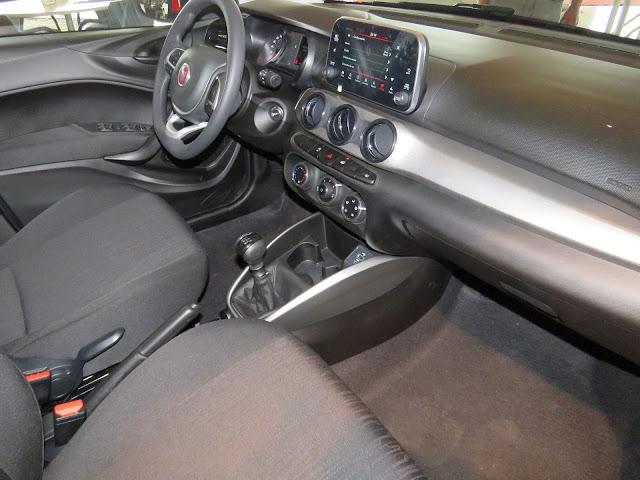 Fiat Argo Drive - interior