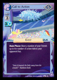 My Little Pony Call to Action The Crystal Games CCG Card