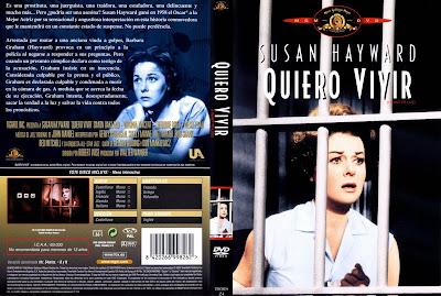 Carátula dvd: ¡ Quiero vivir ! (1958) (I Want to Live!) / Descargar / Película