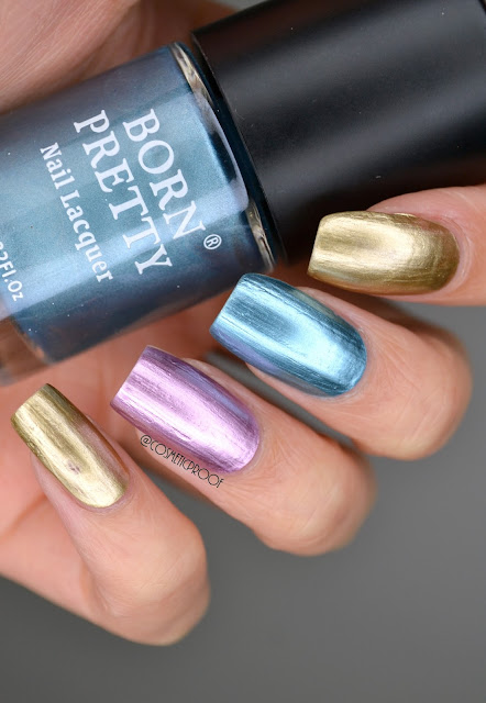 Born Pretty Chrome Nail Art
