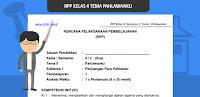 RPP Kelas 4 SD Tema Pahlawanku K13 Revisi Terbaru
