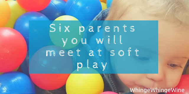 Six parents you will meet at soft play