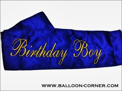 Selempang BIRTHDAY BOY / Sash BIRTHDAY BOY (Murah)