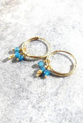 Boucles bijoux Stalactite