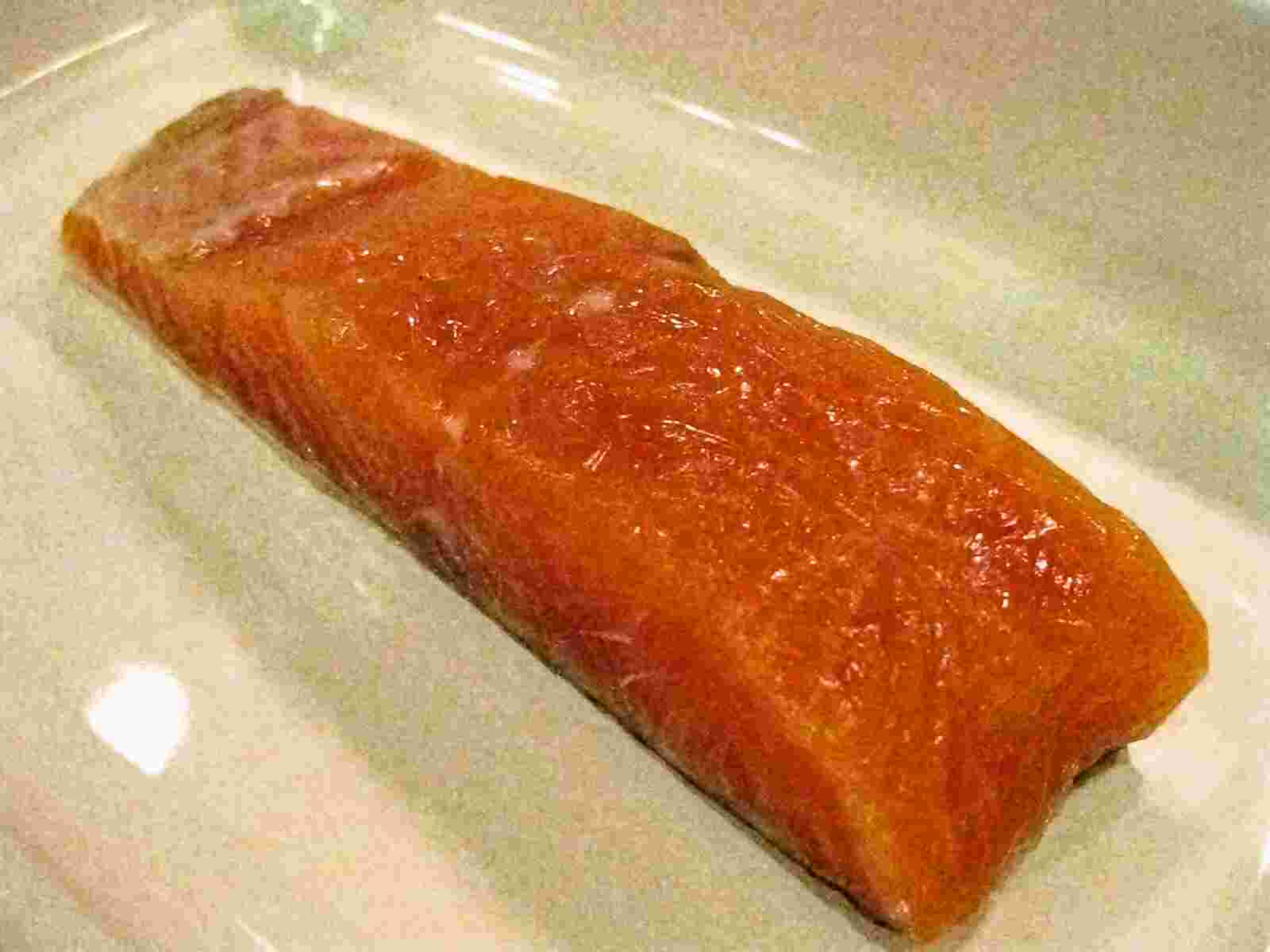 Recipes for Tom: Shiozake / salted salmon