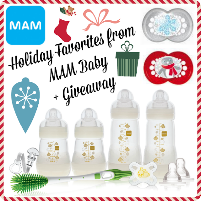 Holiday Favorites from MAM Baby + Giveaway