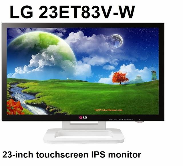 LG 23ET83V-W 23-inch touchscreen IPS monitor