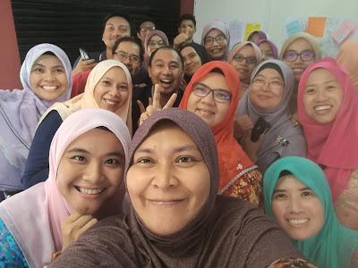 Perkongsian Amalan PAK21 bersama guru SMK Padang Tembak, Kuala Lumpur
