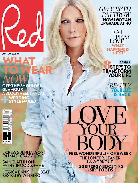 Actress, Singer, @ Gwyneth Paltrow - Red Magazine, June 2016
