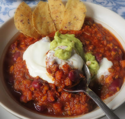 Hearty Vegetarian Chilli
