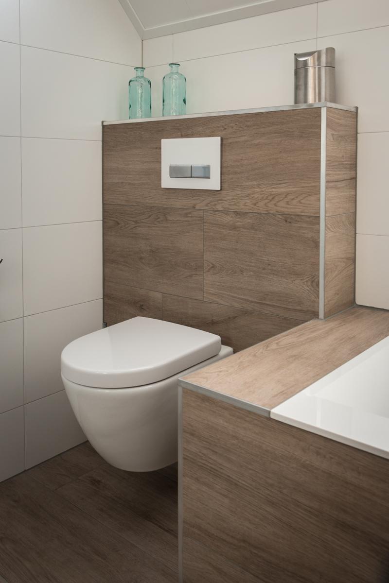 Vandenboombouw unieke badkamer met sunshower - Opnieuw zijn toilet ...