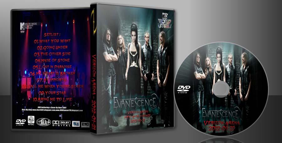 Deer5001RockCocert : Evanescence - 2012-01-21 - Verizon ...