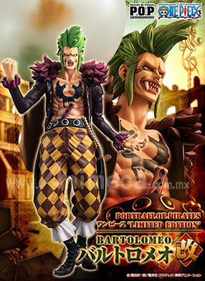 Figura Bartolomeo Kai Limited Edition Portrait.Of.Pirates (P.O.P) One Piece