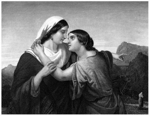 ruth and naomi biblical women who loved each other