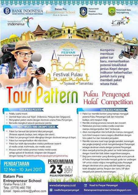 Festival Syawal Serantau 04 Tour Pattern Penyengat Halal Competition