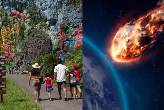 FOTOS: cae meteorito en cuba.