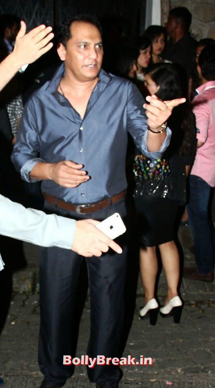 Mohammad Azharuddin, Bollywood Celebs Photos from Nido