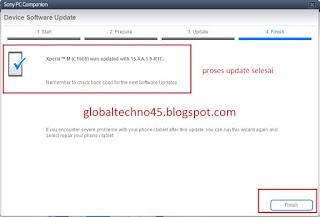 Cara Gampang Flash atau update firmware Sony Xperia M C1905 4