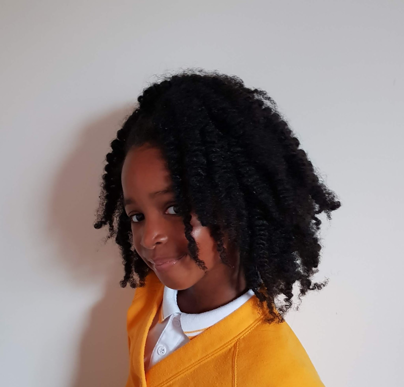 How To Grow Natural Curly Hair With Minimal Products Our First