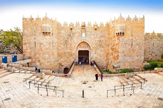 Israel - Orașul Vechi - Poarta Damascului