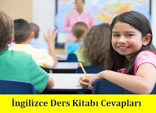 4. Sınıf İngilizce MHG Yayınları Ders Kitabı Cevapları