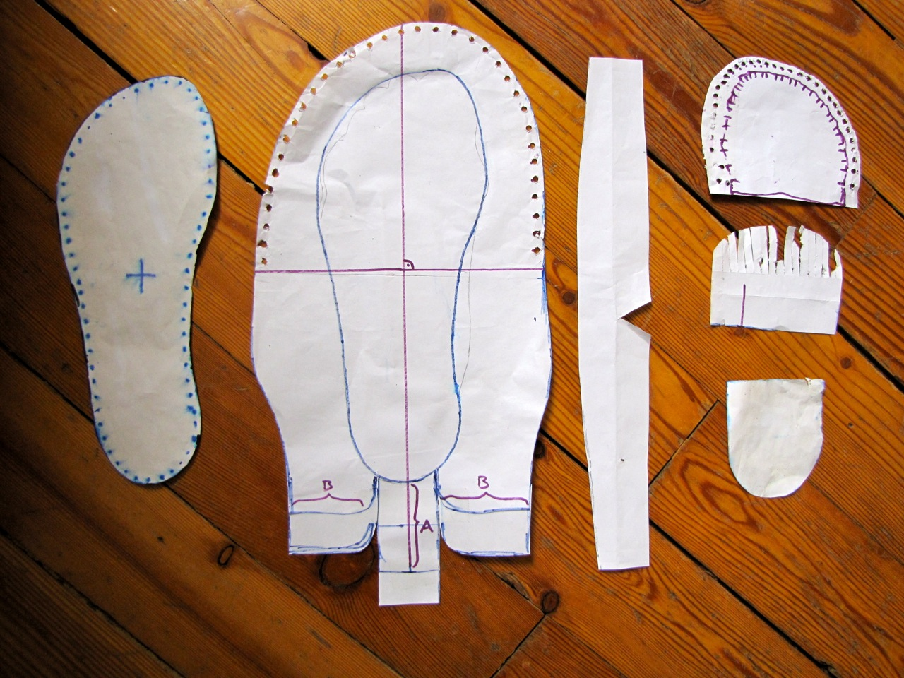 Making Baby Shoes Pattern