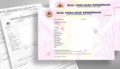 Panduan Mudah Urusan JPJ Pertukaran Nama Pemilik Kenderaan