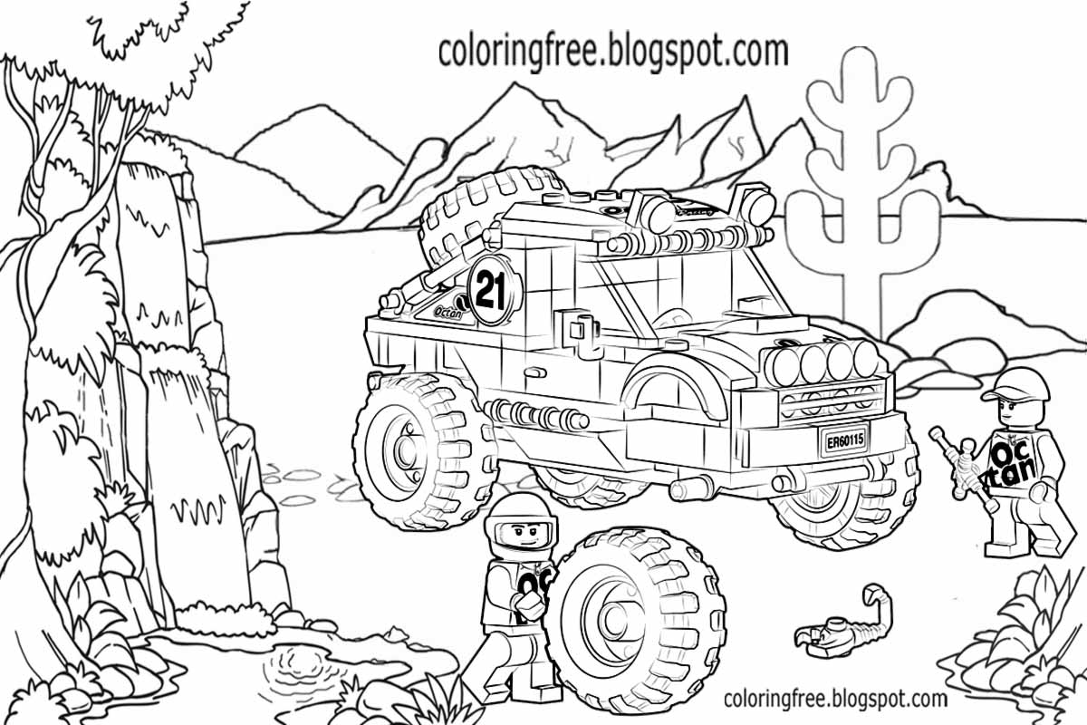 printable lego city coloring pages for kids clipart