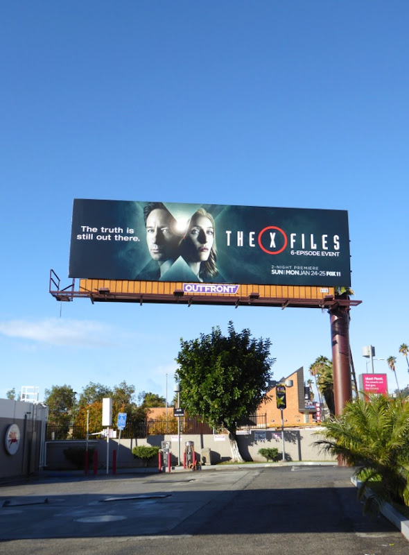 X-Files 2016 miniseries billboard