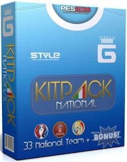PES 2016 Kitpack National Team AIO