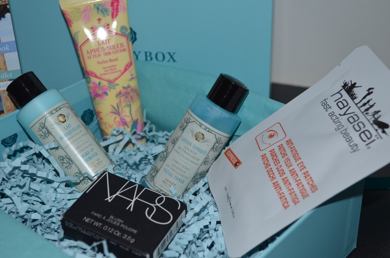 Glossybox Life is a beach