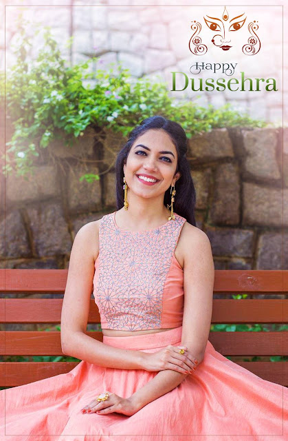 Ritu Varma wishes to the fans Happy dussehra